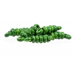 Brushstroke Spacer set, Forest Green