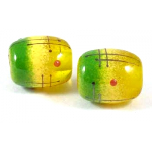 Mini Draft Pair - Yellow Green