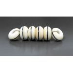 Playhouse Spacer Set, Ivory - 6 beads